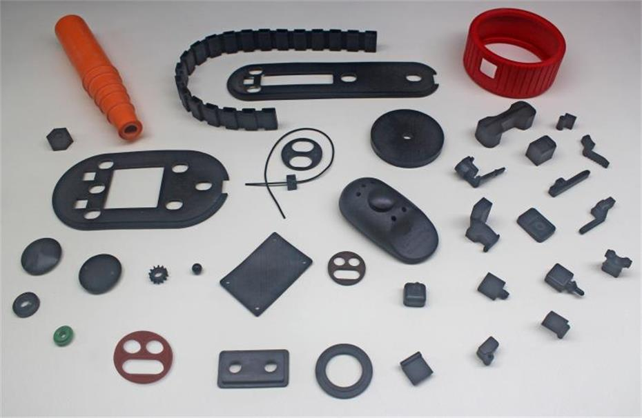 Special rubber parts