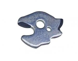 Rubber coated iron